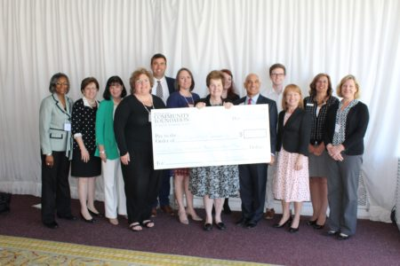 Representatives from ten local and regional nonprofits received grant money on behalf of their organizations at the Williamsburg Community Foundation luncheon. (Elizabeth Hornsby/WYDaily)