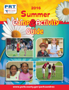 The cover of the 2016 Summer Camps and Activity Guide for York County. (Courtesy York County Parks and Recreation)