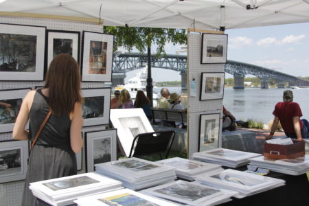 Art at the River in Yorktown will feature more than 40 local artists Sunday. (Photo courtesy York County)
