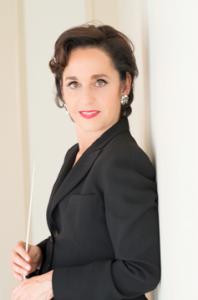 WSO music director Janna Hymes. (Courtesy Kim Kiely Photography)