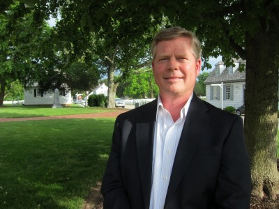 Todd Mathes will serve at the interim Dist. 4 representative on the York County School Board until the November general election. (Photo by Kirsten Petersen)