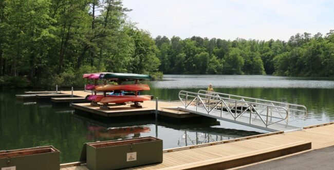 Waller Mill Park is one of the places the city is hoping residents will provide feedback on. (File photo)