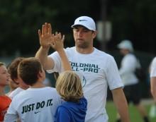 NFL superstars descend on Williamsburg for football camp