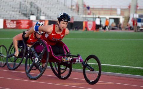 Alexa Halko will be representing the United States in the 2016 Paralympic Games. (Photo courtesy of Elesha Halko)