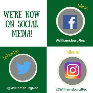 Social media wburg parks and rec