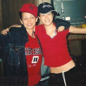 Brittany Binger (left) and Leslie Chambers, both 16, pose for a picture in October 2004. Binger was found raped and murdered about three months later on Jan. 2, 2005. (WYDaily/Courtesy Leslie Chambers)