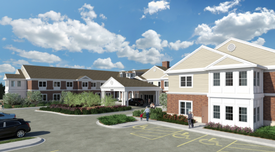 Edgeworth Park at New Town (Rendering courtesy of Life Care Services.)