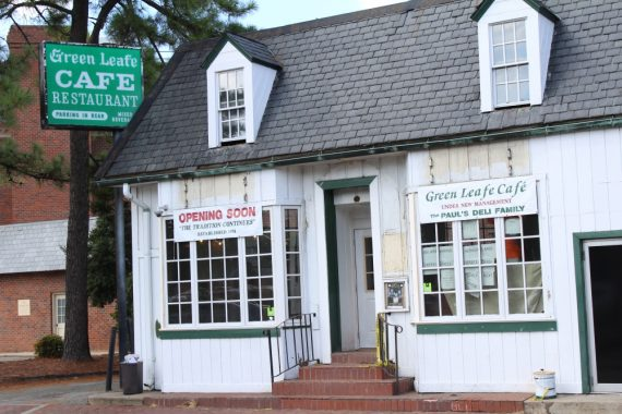 Green Leafe Cafe's new owner hopes to preserve its history