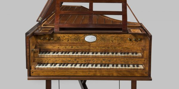 A harpsichord purchased by George Washington for his granddaughter Nelly will by on display at at the DeWitt Wallace Decorative Arts Museum. (Courtesy George Washington's Mount Vernon)