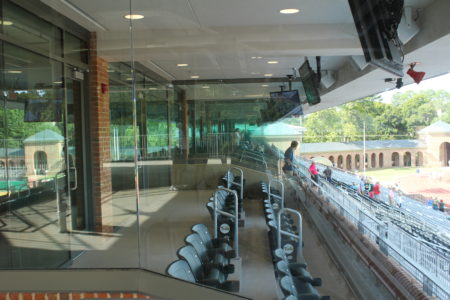 The new Luxury Boxes at Zable Stadium. (Andrew Harris/WYDaily.)