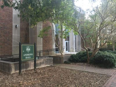 The alleged assault took place June 15 inside one of the classrooms in Andrews Hall on the William & Mary campus. (Adrienne Berard/WYDaily)
