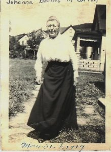 Johanna Barnes McCartan. (Courtesy Ancestry.com.)
