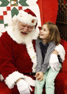Santa's Yorktown schedule