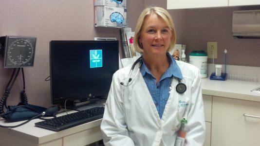Allison Butler, RN, CFNP, Riverside Partners in Women's Health (WYDaily/Jennifer Holden)