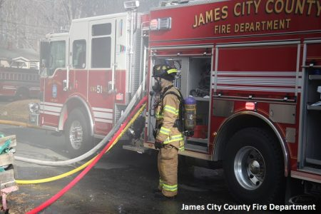 Courtesy of the James City County Fire Department