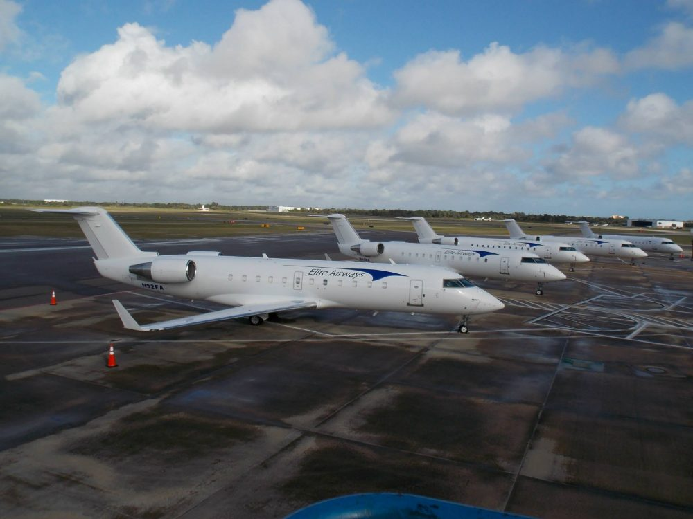 Elite Airways Operates A Fleet Of Arr Crj 200 And 700 Jet Airliners