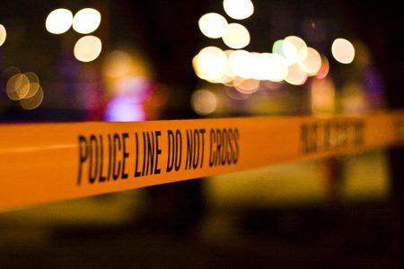 Crime scene tape (file photo)