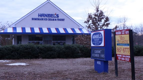 Handel's Ice Cream closes in Lightfoot, may be replaced by AutoZone