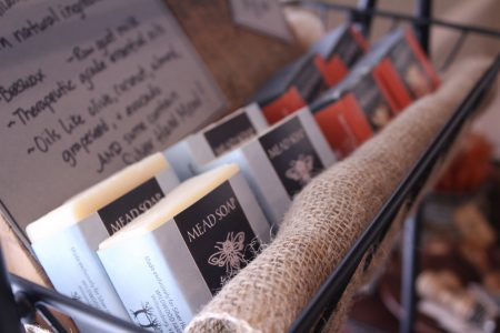 The Silver Hand Meadery also sells locally-made mead soaps. (Sarah Fearing/WYDaily)