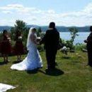 Kellie Miner and Brandon Frazier were married June 25, 2016.