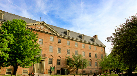 Jefferson Hall. (Courtesy William and Mary)