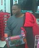Police are seeking to identify a man accused of taking a drone from a 7-Eleven. (Courtesy York-Poquoson Sheriff's Office)