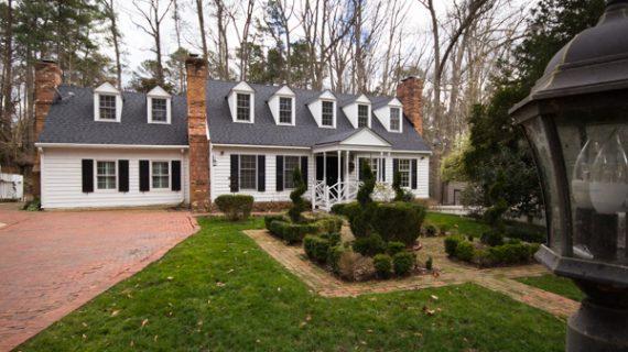 Where We Live: Cape Cod style historic home