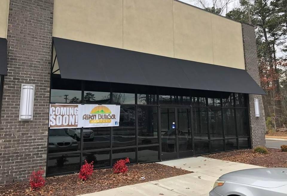 Aspen's location in Yorktown. (Courtesy Aspen Burger Company)