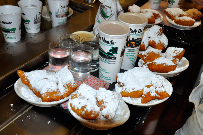Cafe In New Orleans Beignets