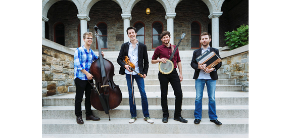 Charm City Junction is one of the bands slated to perform at the Williamsburg Library this spring. (Courtesy Charm City Junction).
