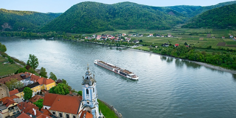 The Greater Williamsburg Chamber & Tourism Alliance is sponsoring a 7-night, 4-country riverboat cruise along the Danube that can be booked online within minutes. (Photo courtesy Pat Kirkman)