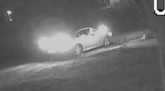 The image of the suspect's vehicle was released by the YPSO Friday afternoon. (Courtesy YPSO)