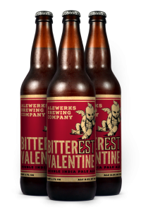Valentine contrarians may find a lot to like at Alewerks this month. (Courtesy Alewerks)