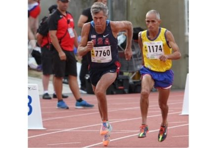 World champion runner and Colonial Road Runners Board of Directors member Stephen Chantry (Courtesy Stephen Chantry)