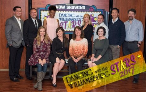 """Contestants in this year's """"Dancing with the Williamsburg Stars,"""" which has more than 100 alumni. (Courtesy Dancing with the Williamsburg Stars)"""