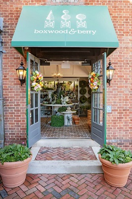The new shop, called Boxwood & Berry, is located on Duke of Gloucester Street. (Courtesy Colonial Williamsburg Foundation)