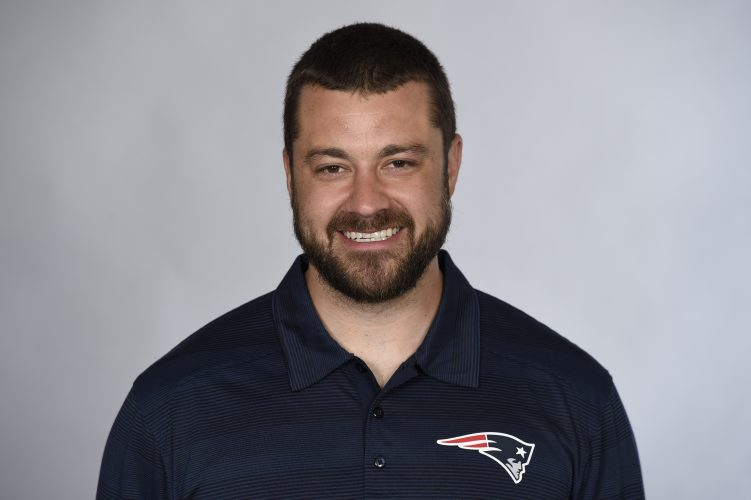 James Hardy was named the assistant strength and conditioning coach for the New England Patriots last spring. (Courtesy James Hardy)