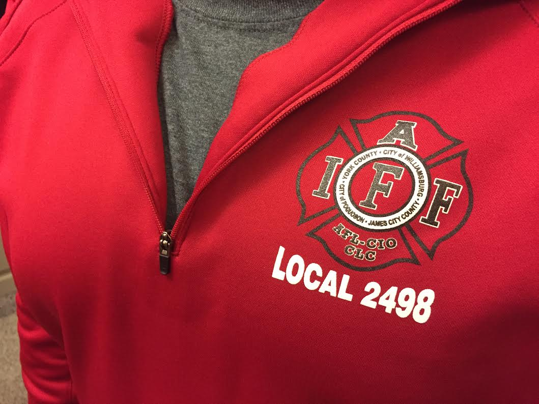 Over 20 firefighters flocked to the Feb. 21 Board of Supervisors meeting to make a statement about staffing in Fire & Life Safety. (Sarah Fearing/WYDaily)