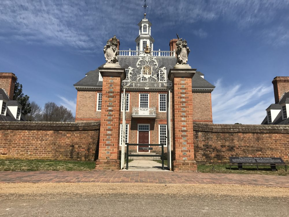 The Governor's Palace in Colonial Williamsburg. (Steve Roberts, Jr./WYDaily)