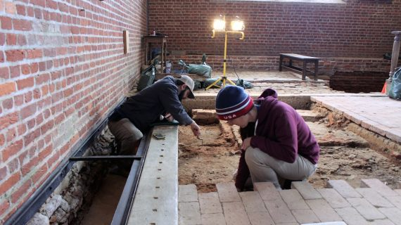 Jamestown Unearthed: Archaeologists explore tombs at center of 1901 woman-led dig
