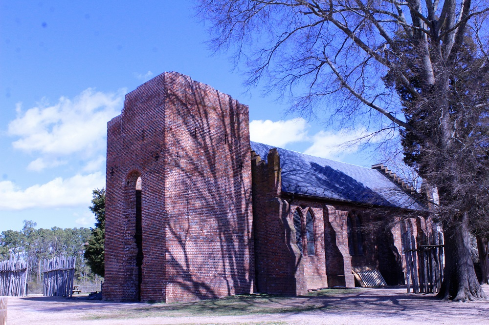 The Memorial church, built in the early 1900s. (Andrew Harris/WYDaily)