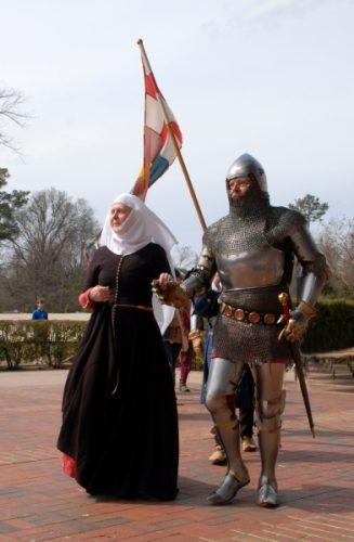 Knight and nun