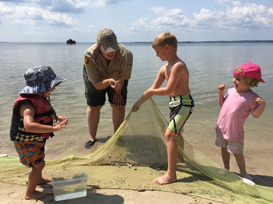 One of the many ranger-led programs at Belle Isle State Park. Photo courtesy Virginia State Parks