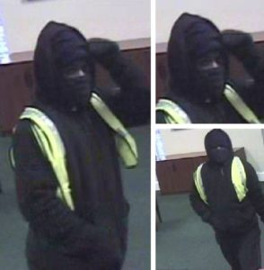 Police are seeking a man who robbed a bank Friday. (Courtesy York-Poquoson Sheriff's Office)