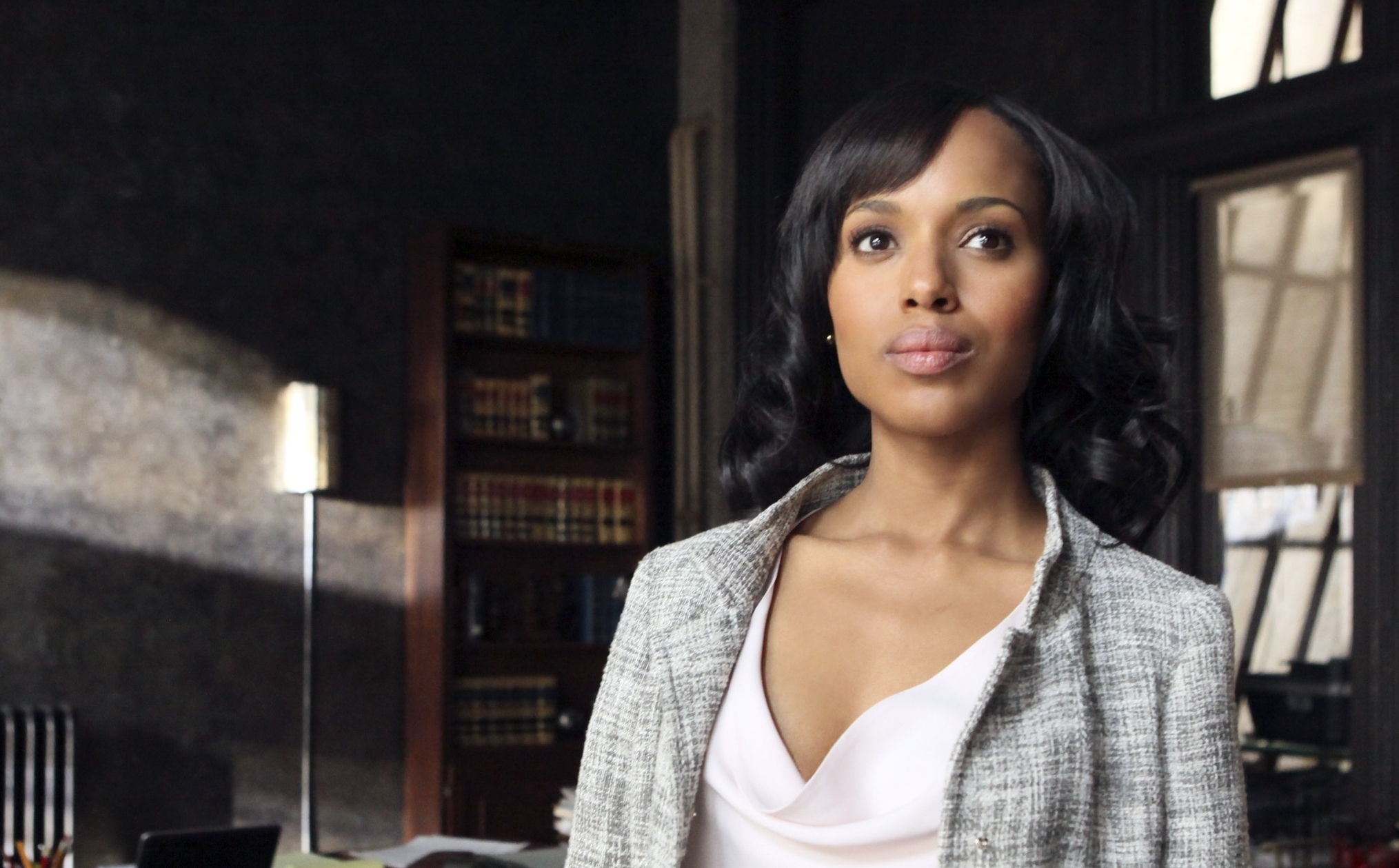 """In the ABC drama """"Scandal,"""" Kerry Washington plays Olivia Pope, a a former media consultant to the president who opens her own crisis management firm. (Courtesy ABC)"""