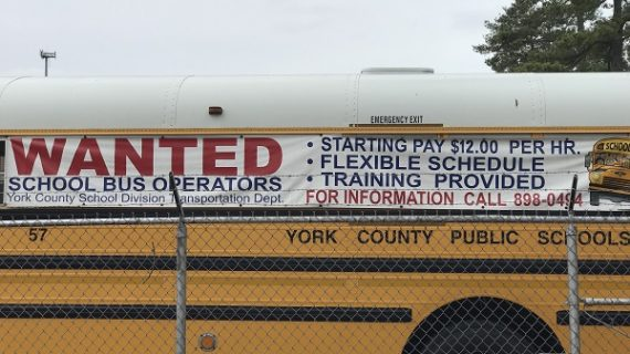 Amid shortage, driver who allegedly crashed bus kept on staff at York County Schools