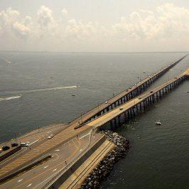 Chesapeake Bay Bridge-Tunnel (Wikimedia Commons)