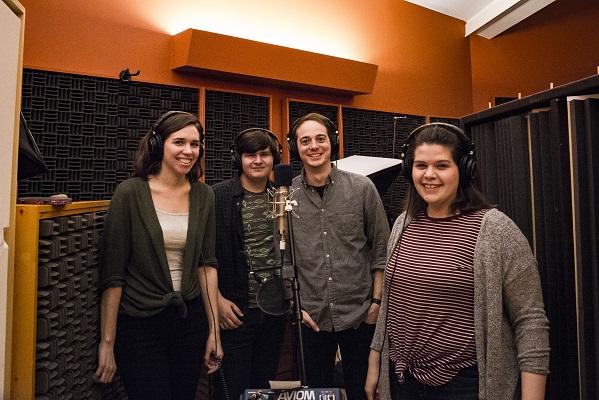 The American Train Collective records its debut album. Photos courtesy Matt Fattal