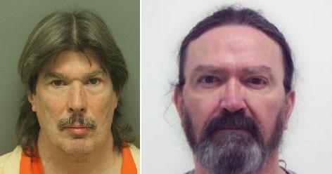 Jeffery Burns (left) and Samuel Ellis (Courtesy North Carolina inmate database)