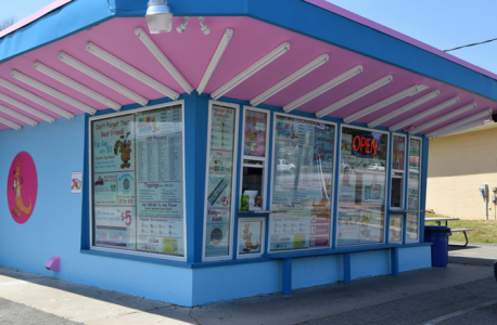 According to a Skippy's Facebook post, the Virginia-based shaved ice chain opened its new location at 7127 Merrimac Trail last month. (Courtesy James City County)